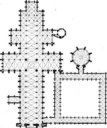 Конструктивная схема храма и весь.