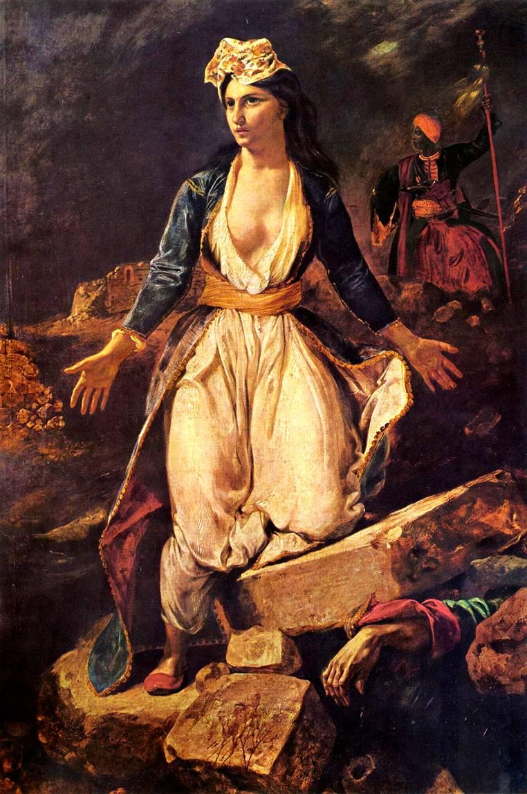 Картина Делакруа: www.bibliotekar.ru/Kdelakrua/9.htm
