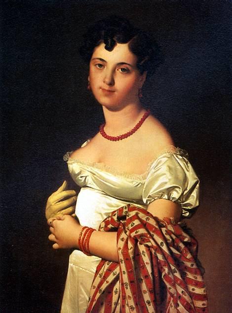 Portrait of madame aymon la belle zelie 1806