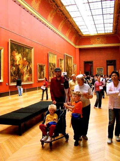 Картинная галерея Лувра