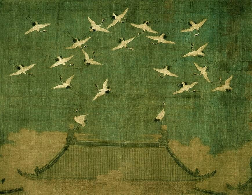 Китайская картина Журавли. Китайская ...: bibliotekar.ru/china-ZhaoJi/4.htm