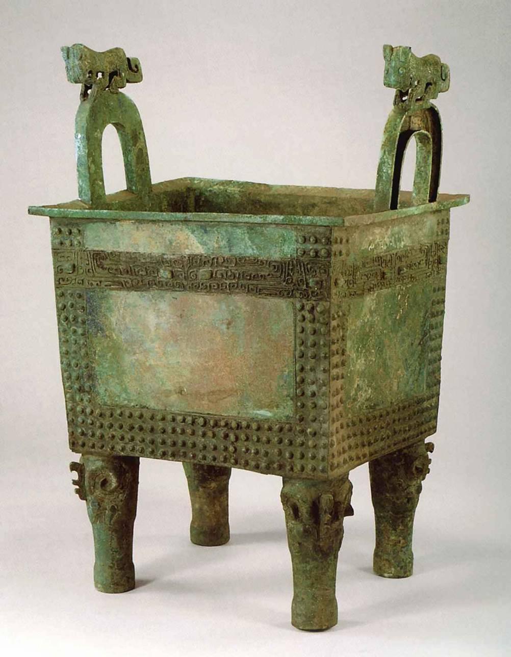 Ритуальные сосуды бронза
