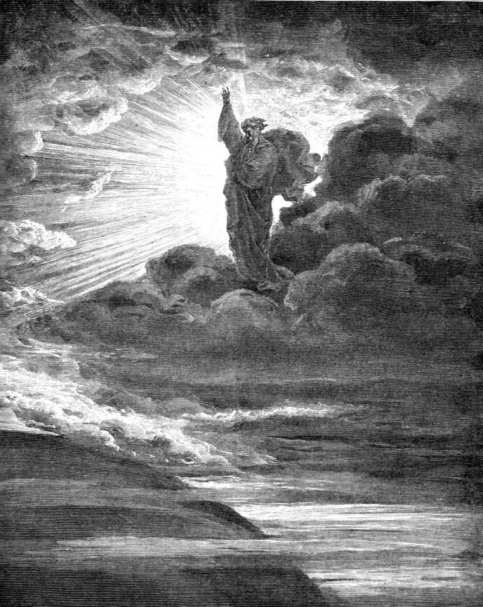 И сказал Бог: Да будет свет