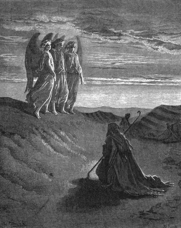 Явление Господа Аврааму у шатра