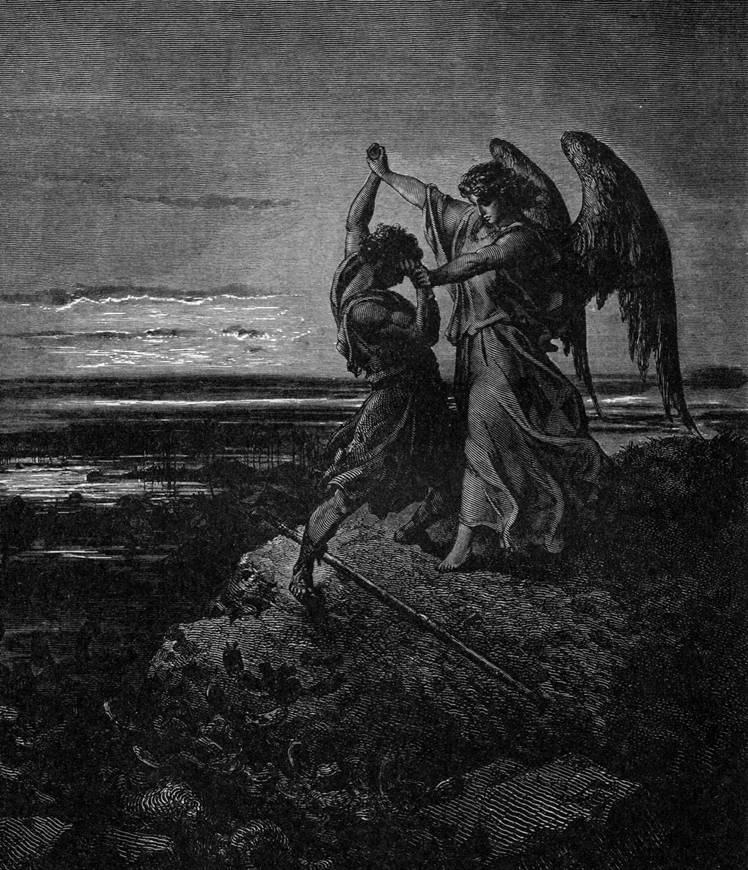 Борьба Иакова с Богом