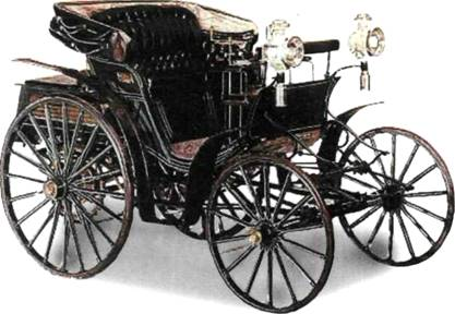 Первый четырехколесный автомобиль Бенц