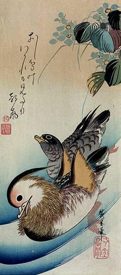 Жанр катега цветы и птицы