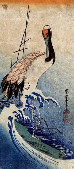 японская живопись жанра катега цветы и птицы