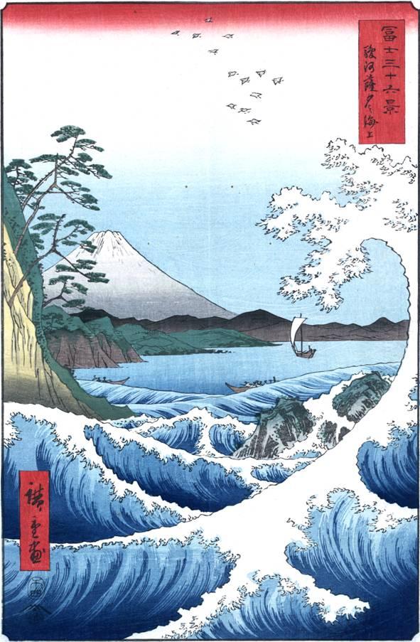 Тридцать шесть видов горы Фудзи