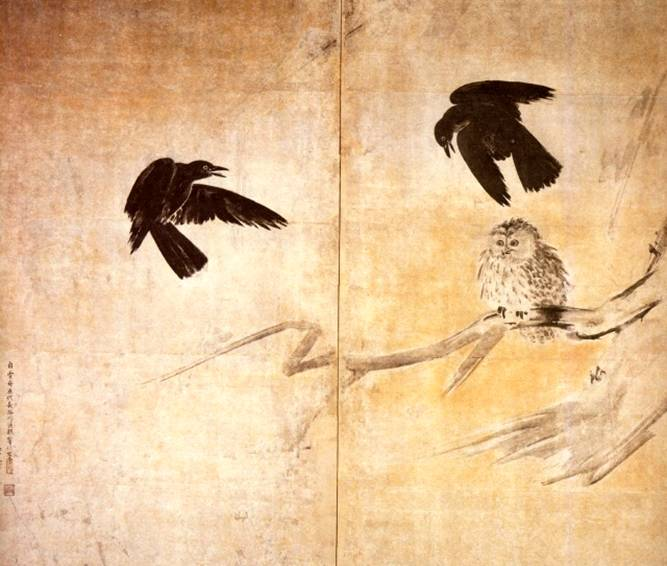 Название картины сова