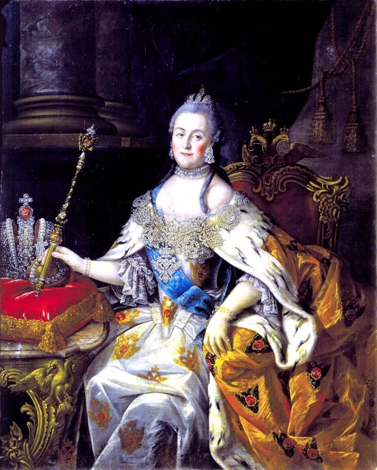 Екатерина 2. Портрет Екатерины 2
