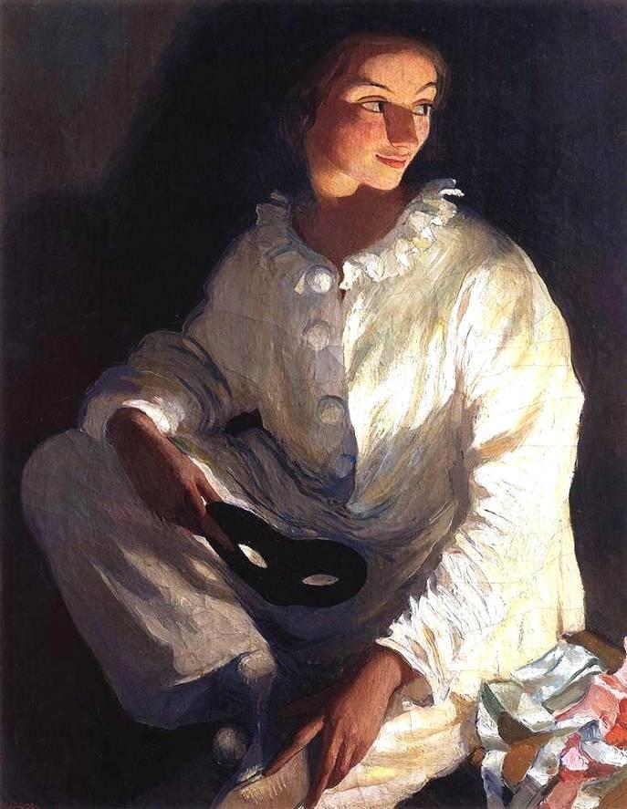 Картина Серебряковой : Автопортрет в ...: bibliotekar.ru/k94-Serebryakova/50.htm
