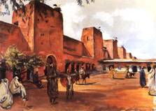 Марракеш. Стены и башни города