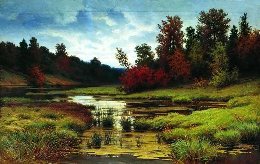 Осень. Пейзаж Волкова