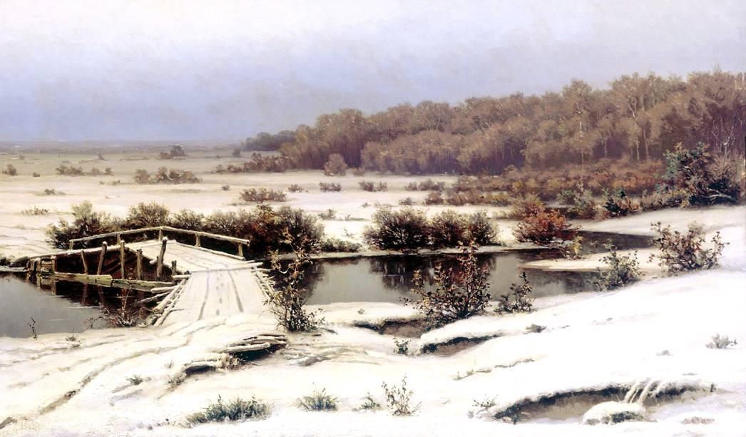 Ефим Волков Ранний снег