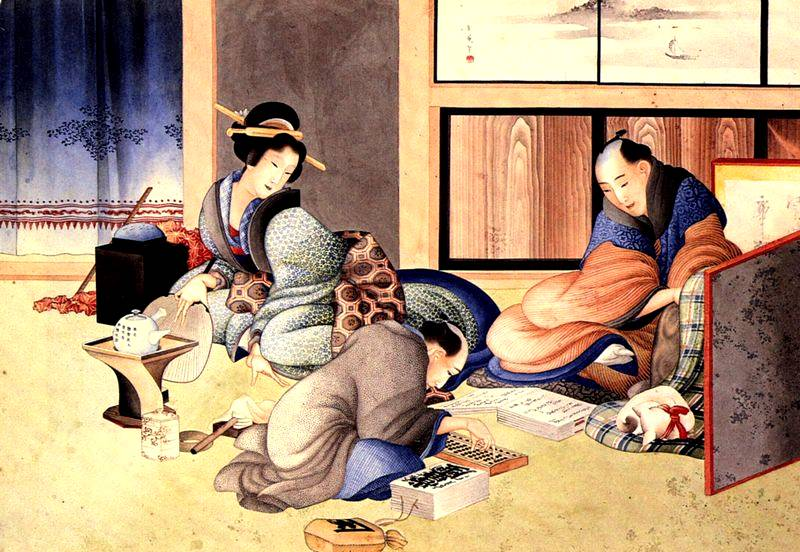 Гравюры Хокусая