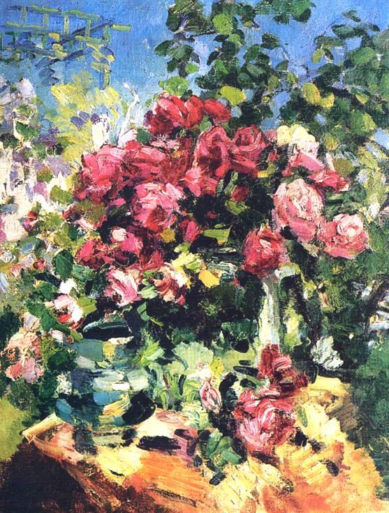 Название картины: Розы. 1917: www.bibliotekar.ru/kKorovin/13.htm