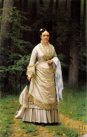 Название картины портрет третьяковой