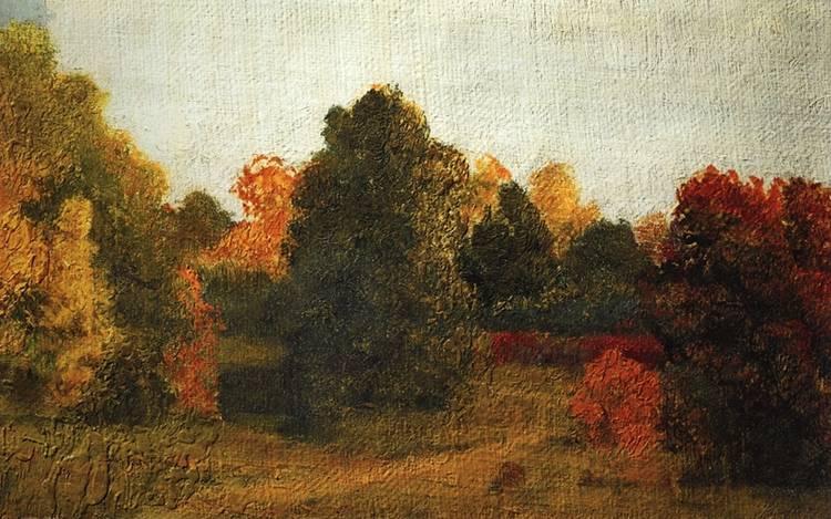 осень в картинах художников: