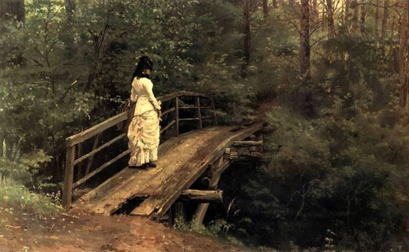 Название картины летний пейзаж 1879