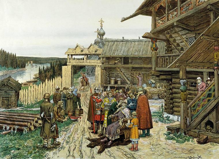 описание картины васнецова: