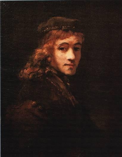 картина рембрандта - портрет титуса, сына художника