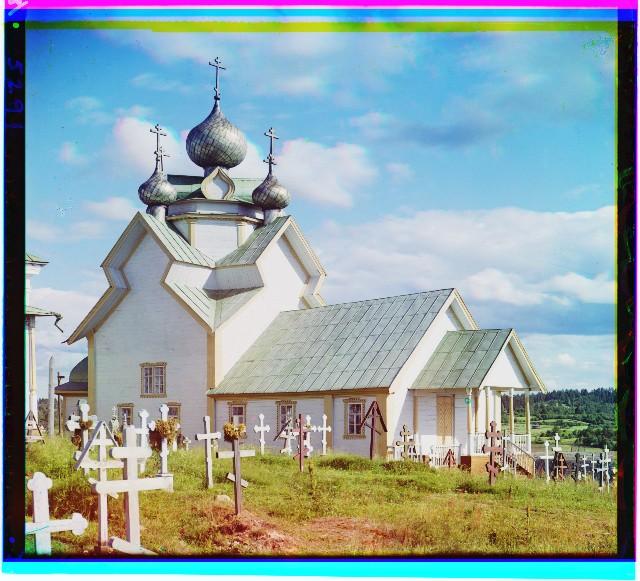 храм в девятинах 1909 год