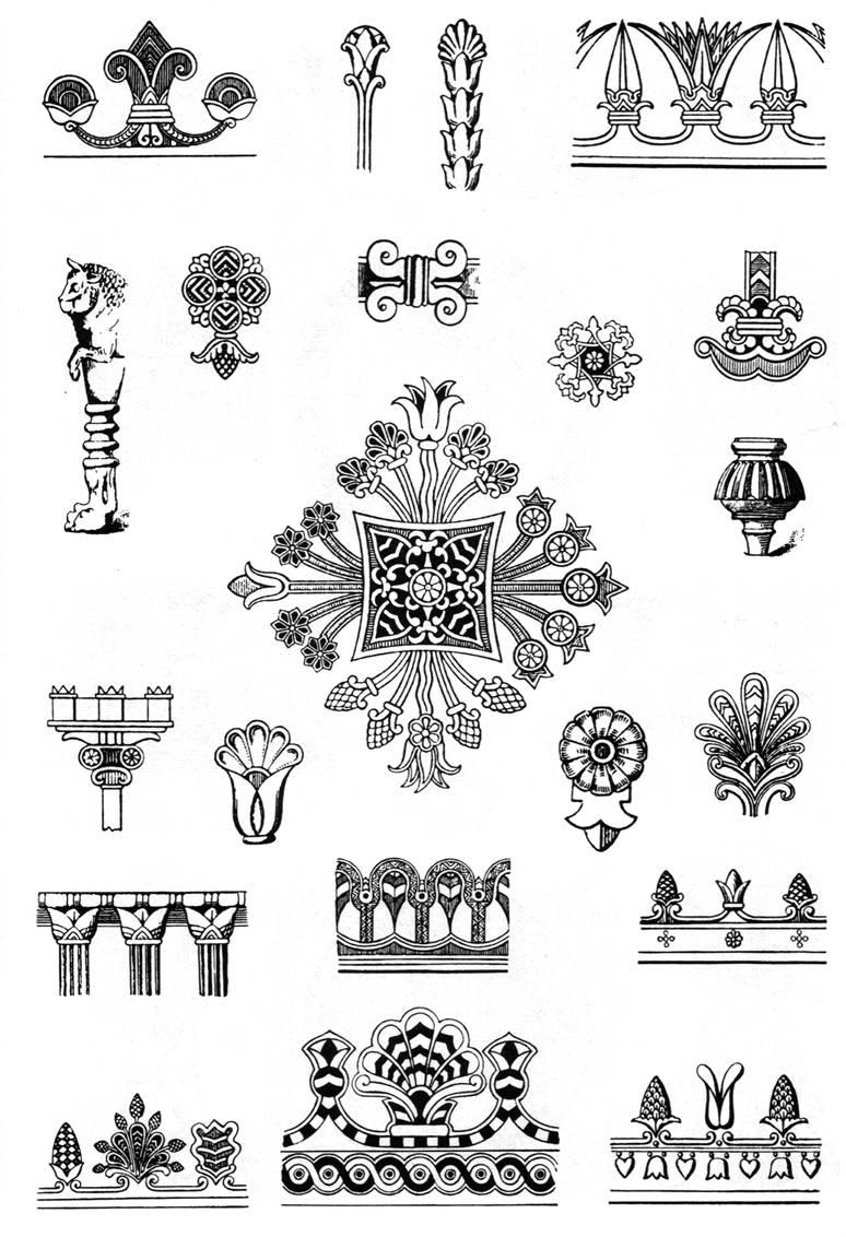 Египетские узоры орнаменты