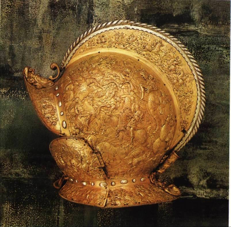 Шлем аугсбург около 1589 года