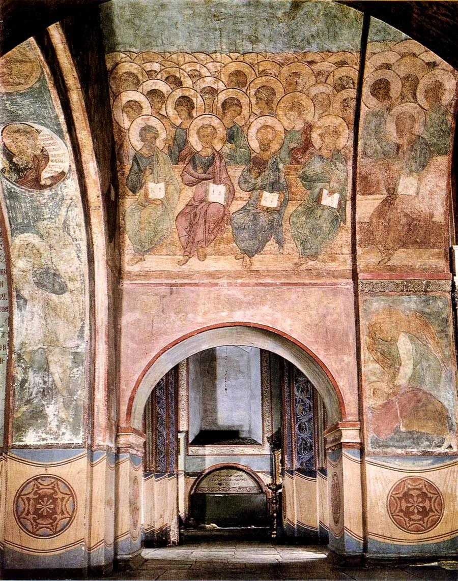 Роспись успенского собора во владимире