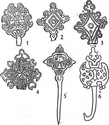 Украшения древних славян (IX - XII вв.