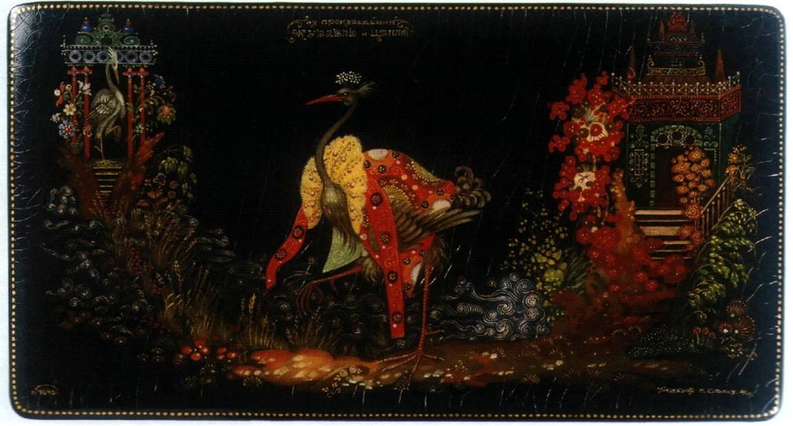 Сокровища русского искусства палех