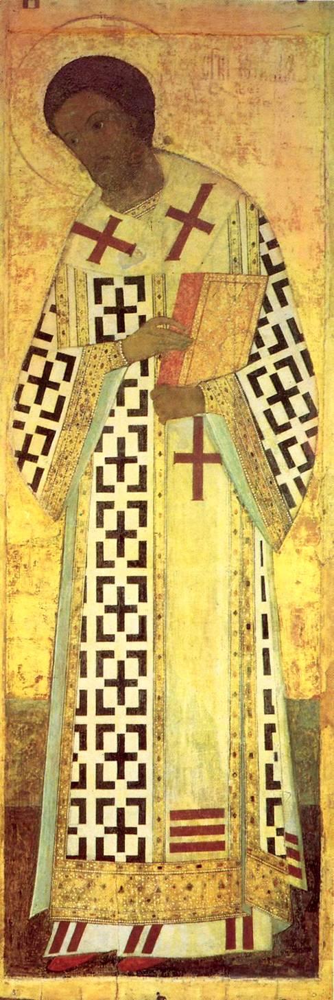 Иконы Рублёва. Святитель Иоанн ...: bibliotekar.ru/rusRublev/16.htm