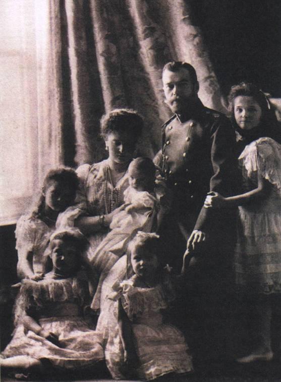 фотография Император Николай 2 с семьей