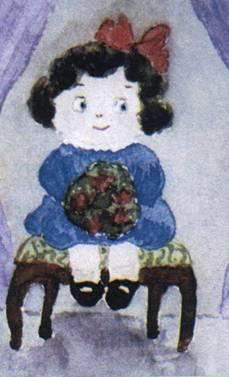 Рисунок великой княжны Анастасии