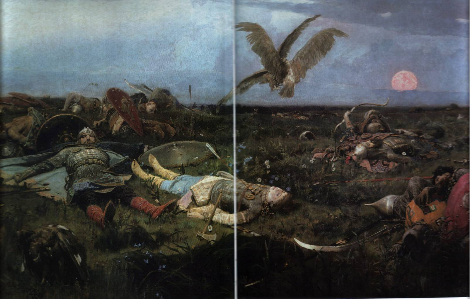 картина васнецова богатыри: