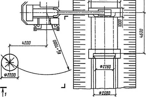 Схема разработки грунта